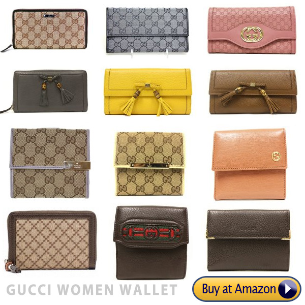 gucci name brand wallets for women