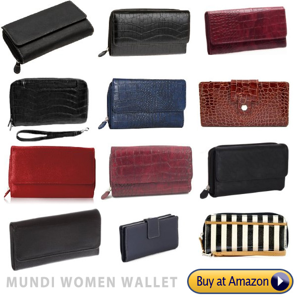 high quality mundi womens leather wallets