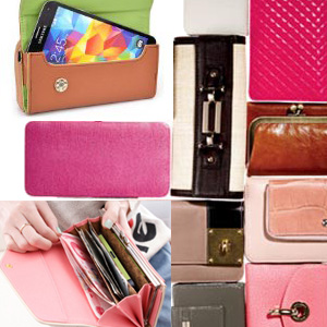 leather money brand name wallets for women