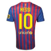 messi large size soccer blue & pink jersey