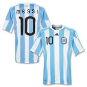 official messi shirt sky blue & white jersey