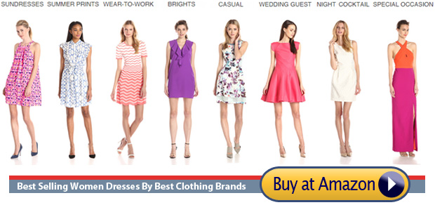 women dresses ranked by Amazon's best selling clothing brands